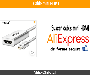 Comprar cable mini HDMI en AliExpress