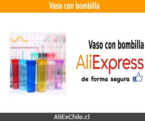 Comprar vaso con bombilla en AliExpress