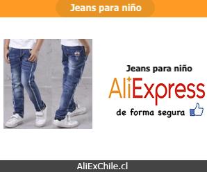 Comprar jeans para niño en AliExpress