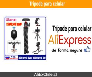 Comprar trípode para celular en AliExpress