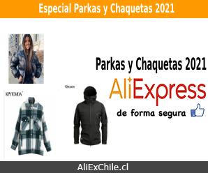 Especial chaquetas y parkas 2021 en AliExpress