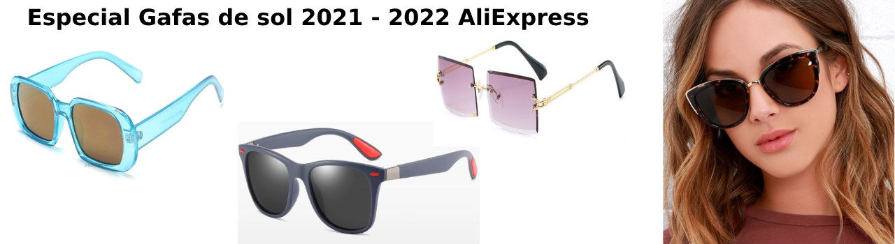 gafas de sol en aliexpress