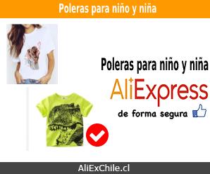 Comprar polera para niño o niña en AliExpress a buen precio